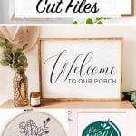 Cricut SVG Cut files