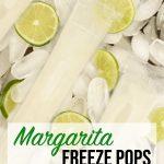 Margarita freeze pops
