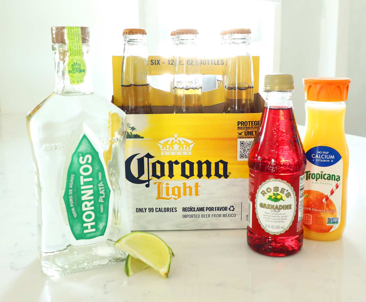 Corona Sunrise Ingredients