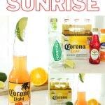 Corona Sunrise Cocktail