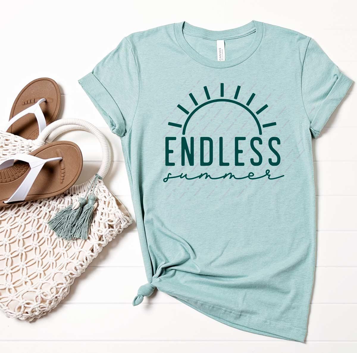 Endless Summer Free SVG File