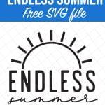 Endless Summer Free SVG