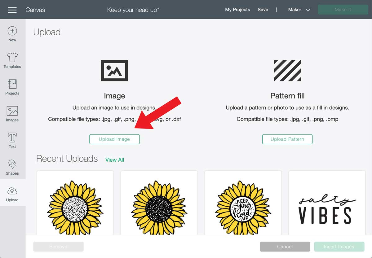How to Upload an SVG Cricut
