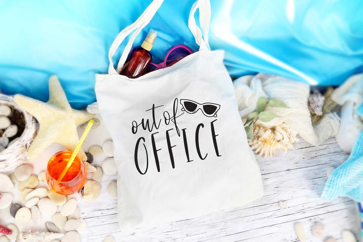 Out of Office SVG File