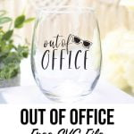 Out of Office Free SVG File
