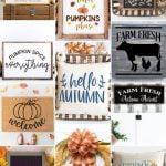 Fall Farmhouse SVGs