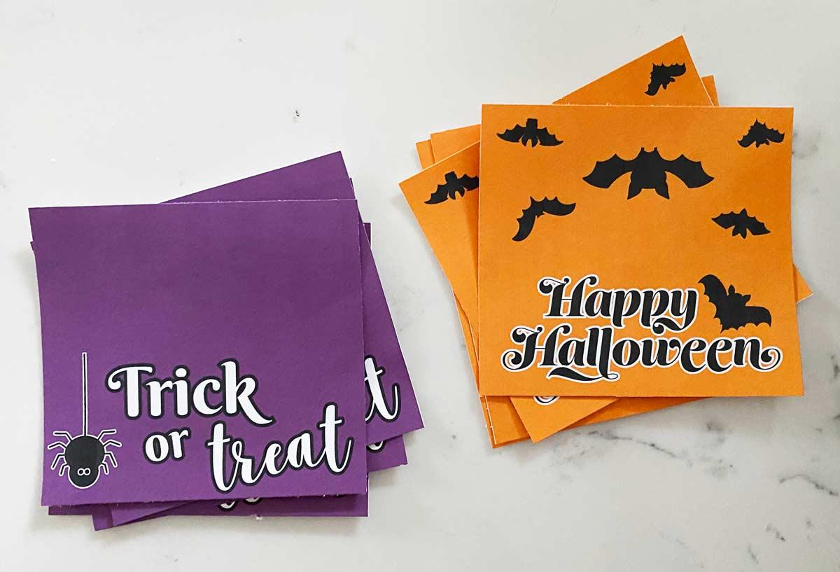 halloween treat bags