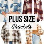Plus size Shacket