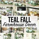 Teal Fall Farm house Decor