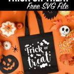 Trick or Treat Free SVG