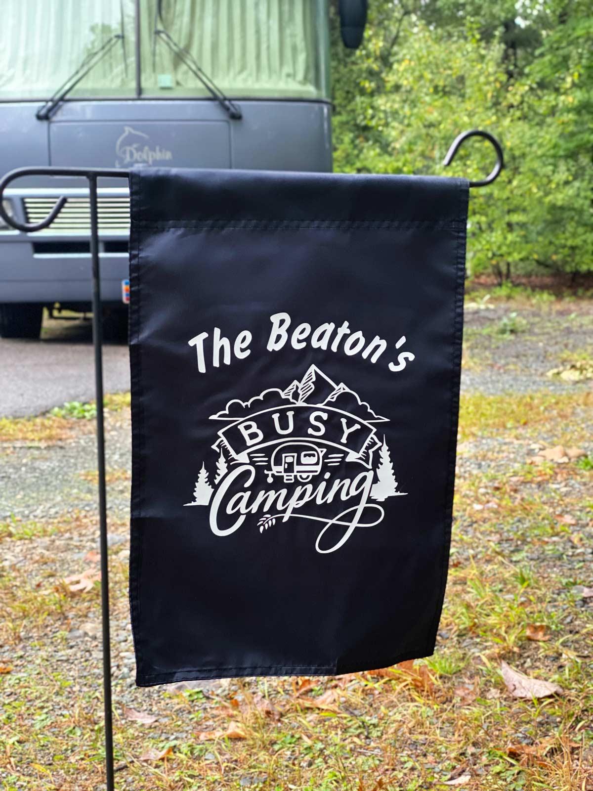 Camping Flag